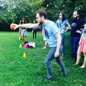 bocce ball court fun adult social team sport