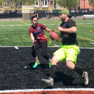 football coed flag touch foot ball adult social leagues